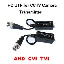HD Best CCTV UTP AHD Video Balun cat5 with BNC UTP Video Connector balun transceiver for camera passive AHD balun HDCVI TVI