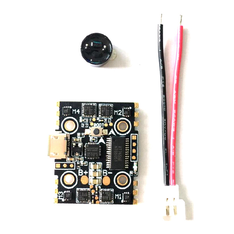 F3 Betaflight_3.2.0 Flight Controller OSD + 4 IN 1 5A 1S Brushless ESC for FPV Racing Drone Racer Quadcopter Multirotor micro minimosd minim osd mini osd w kv team mod for racing f3 naze32 flight controller