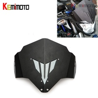 MT 03 MT 03 FZ03 Motorcycle Motorbike Windshield Windscreen Aluminum For Yamaha MT03 FZ 03 MT