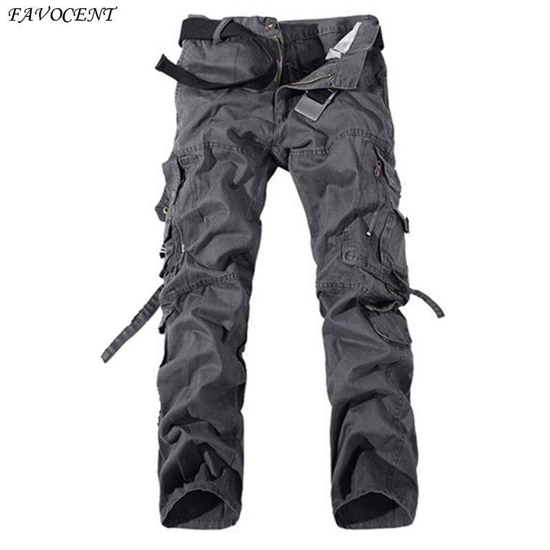 FAVOCENT 2017 men s high quality overalls pants 28 40 large casual men s pants pants