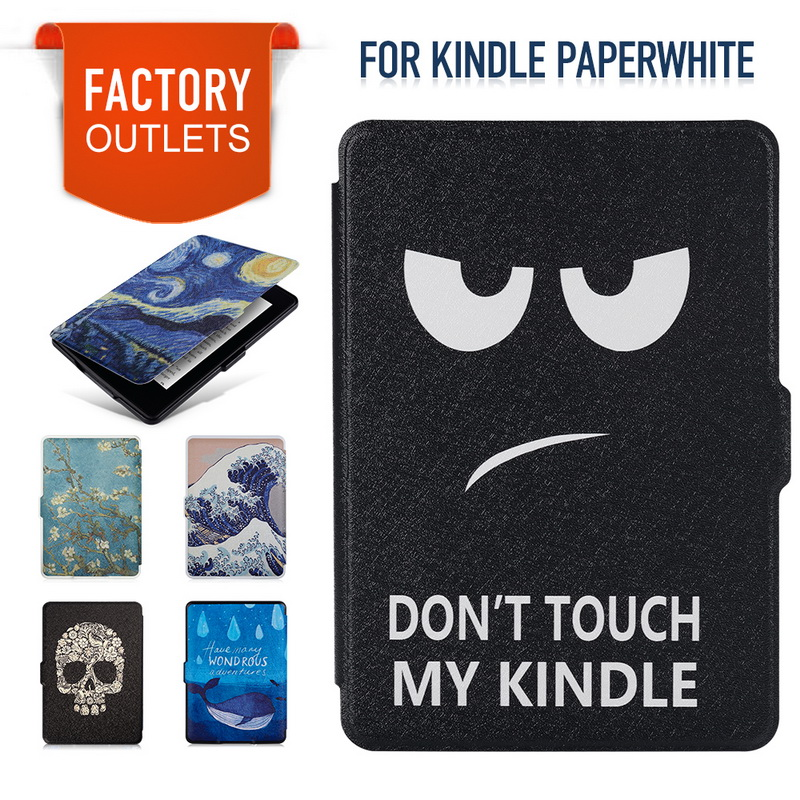 Smart Shell Kindle Paper Fall Pu-leder Abdeckung Auto-Sleep/Wake für Amazon Kindle Paperwhite...