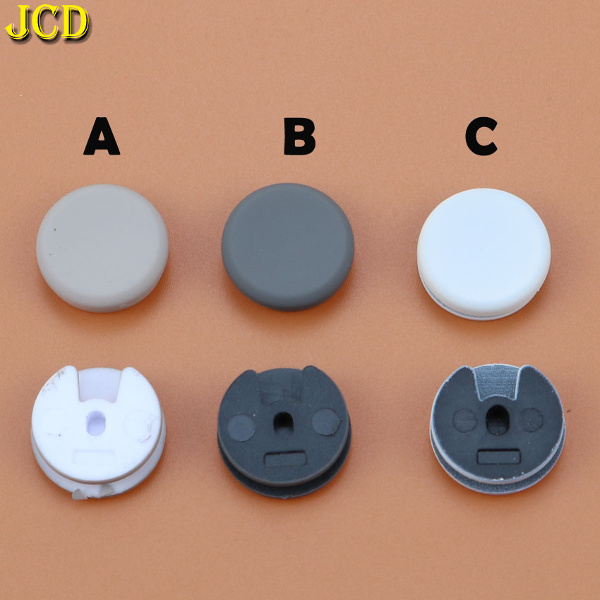 JCD 2PCS 3D Analog Joystick Grips Cap Cover Case Button Rocker Cover For Nintend 3DS For 3DS XL For 3DS LL For 2DS