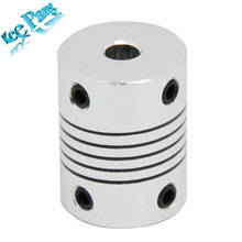 3D printer Stepper Motor 5x5x25mm Flexible Coupling Coupler /Shaft Couplings 5 mm*5mm**25 mm  Free Shipping