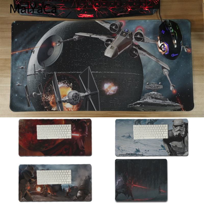 Yinuoda Прохладный звездные войны battlefront противоскользящие прочный силиконовый Computermats Размеры для 30x60 см и 30x60 см игровые коврики