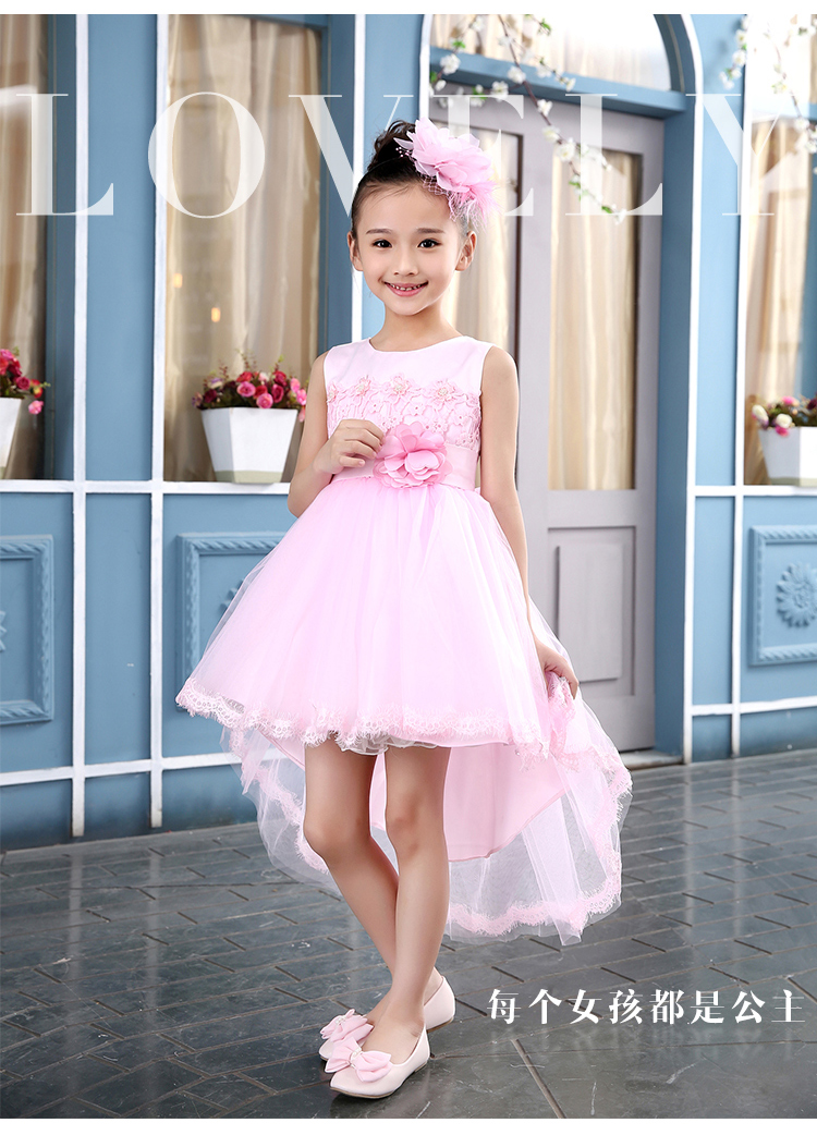Kids wedding dresses images wedding dress decoration for Wedding dresses for child