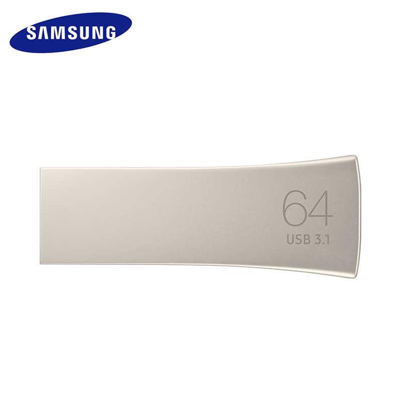 SAMSUNG BAR PLUS USB флэш-накопитель 128 Гб 64 Гб оперативной памяти, 32 Гб встроенной памяти usb 3,1 флеш-накопитель U диск Stick ключ USB флэш-диск флэш-накопитель usb-накопитель memria