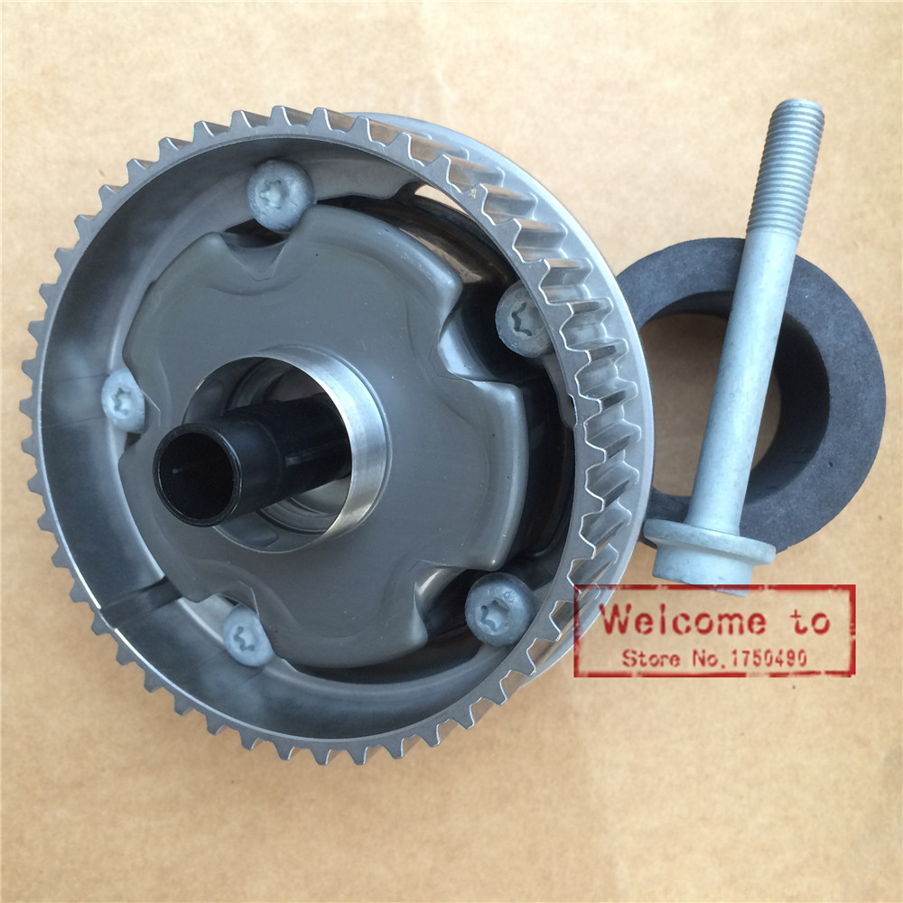 Original CAMSHAFT SPROCKET Camshaft Intake Gear 55567049 For OPEL Astra H/Insignia/Signum/Vectra C or Zafira B Chevrolet Cruze vvt lifan1 8 air intake timing sprocket vvt phase shifter chain wheel for lifan x60 720