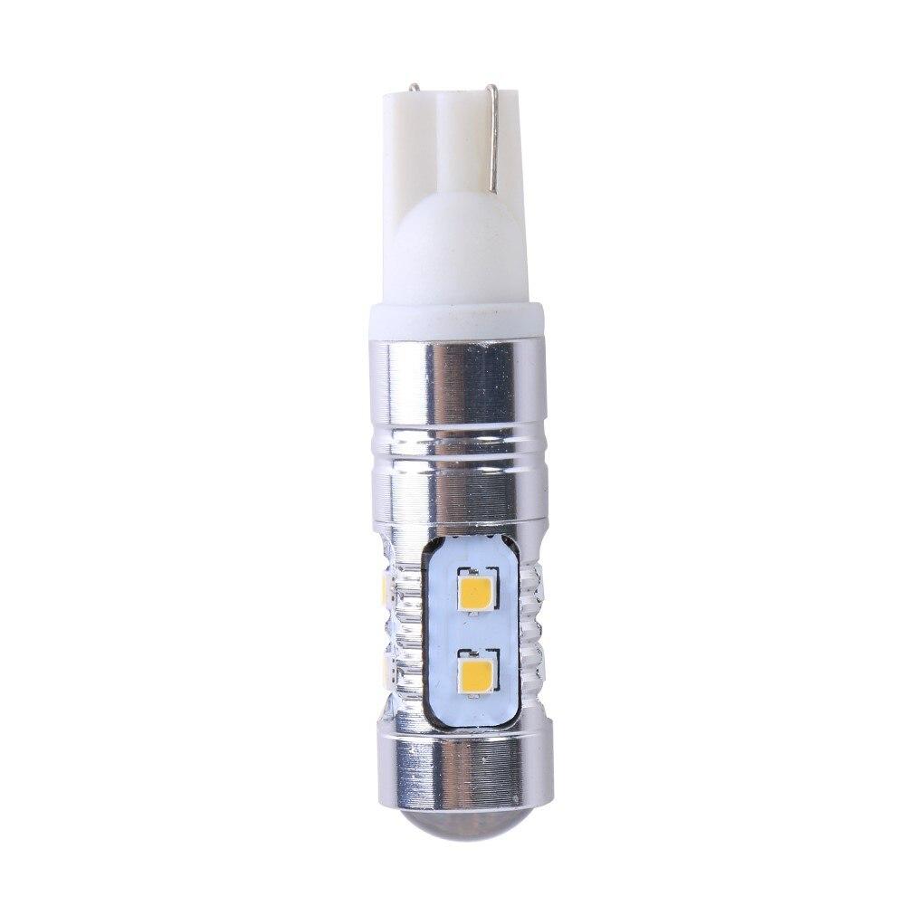 В T10 10SMD 2323 СИД автомобиля света Алюминиевый Обратный свет купола панель парковка Индикатор ширины дневные ходовые лампы автомобилей-стайлинг