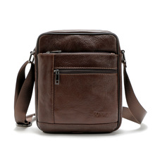 Neue Männer Echtes Leder Umhängetaschen Handtaschen Kuh Leder Männlichen Umhängetaschen Fashion Vintage Business Casual Handtasche für Männer