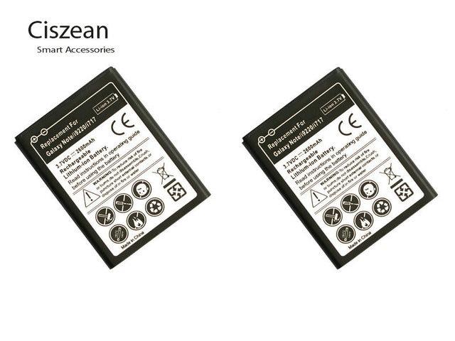 2pcs/lot 2600mAh EB615268VU 3.7VDC Replacement Li ion