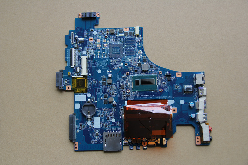 For Sony VAIO SVF153 Laptop motherboard DAHKDAMB6A0 with I5-4200U CPU Onboard DDR3 fully tested work perfect