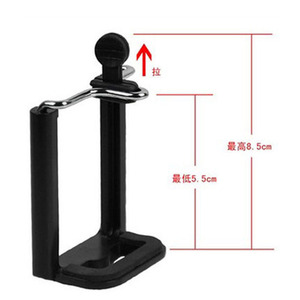 Image 4 - Kaliou Universal Cell Phone Clip Phone Holder for Tripod Monopod Selfie Stick Mount Bracket Adapter