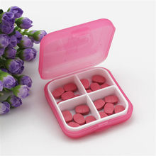 Portable Mini Emergency Survival Pill Case Medicine Boxes Travel Medical Drugs Tablet Organizer Storage Box Container Home Cases(China)
