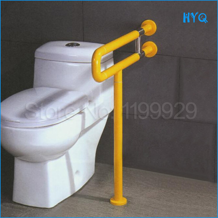 Luxury Style Barrier Free Facility Bathroom Handrails Elderly  People/disabilities To Toilet Toilet Reinforcement Armrest In Grab Bars  From Home Improvement ...