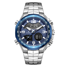 Senors Dual Display Wristwatches Sport Watch Chronograph Ala