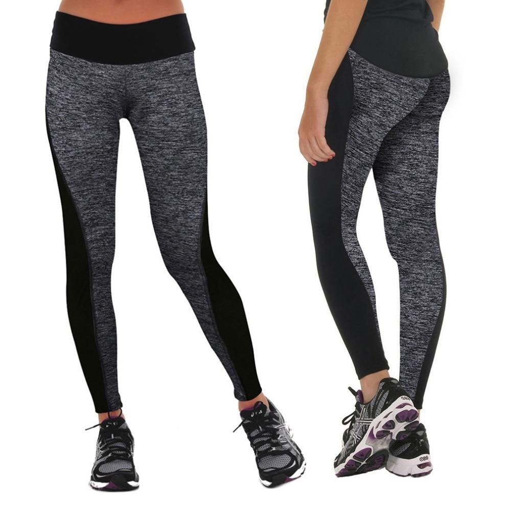 2017 Elastic Women Slimming Pants Leggings For Running ...