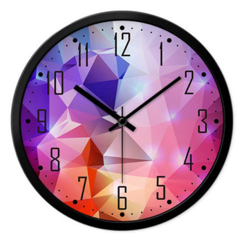 Wall Clock Vintage Stylish Modern Geometric Watches Horloge Murale Design Moderne Large Decorative Household Products QQN144