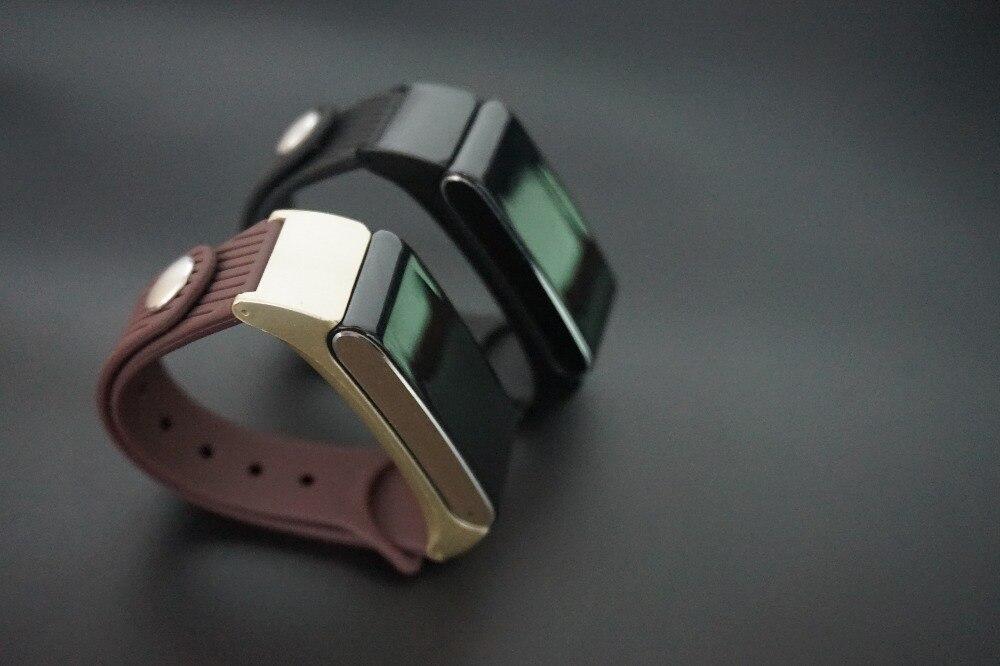 imágenes para Lo nuevo K2s Banda Reloj de Pulsera Brazalete de presión arterial Monitor Del Ritmo cardíaco del Podómetro Fitness Inteligente pk miband2
