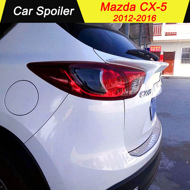 For MAZDA CX 5 ABS spoiler beautifully decorated car accessories tail wing decoration rear spoiler for