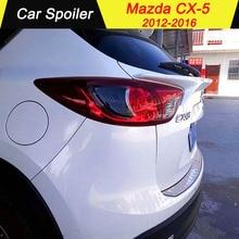 Для MAZDA CX-5 ABS спойлер красиво украшенные автомобильные аксессуары украшение в виде хвостового крыла задний спойлер для mazda CX-5 cx5 2012