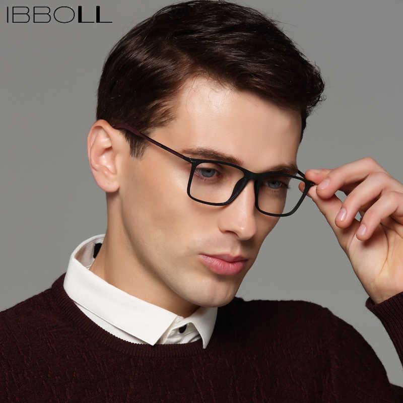 c47a58de3ff23 ibboll Fashion Brand Designer Optical Glasses Frame Prescription Clear Eye  Lens Glasses Frames for Men Myopia