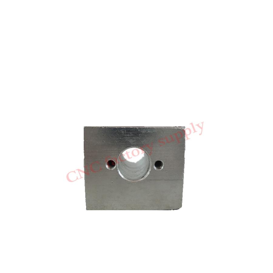 Free shipping 3pcs T8 trapezoidal screw nut housing mounting bracket aluminum for T8 screw nut cnc engraving machine part dhl ems 2 pcs f39 lr1 f39 lr1 1pcs new for om ron plc mounting bracket free shipping d1