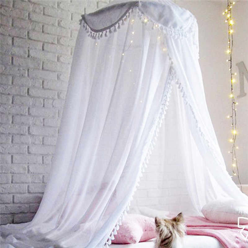 Baby Bed Canopy Bedcover Mosquito Net Curtain Bedding Dome Tent Room Decor