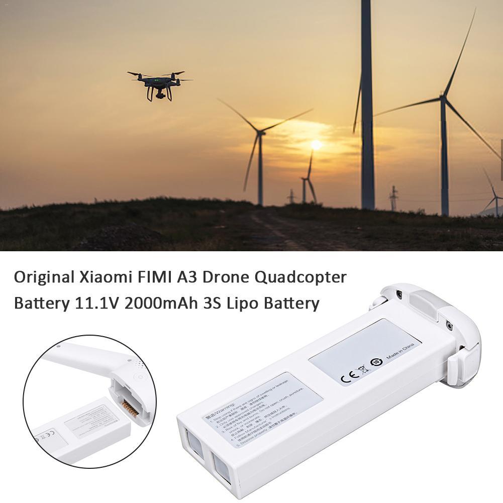 Original pour Xiaomi FIMI A3 Drone quadrirotor batterie 11.1V 2000mAh 3S Lipo batterie Drone jouet accessoires