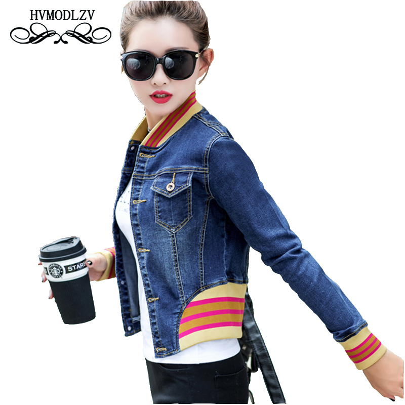 Coats Special Offer Full Bomber Jacket Woman 2017 New Autumn Winter Fashion Women Coat Stitching Slim Casaco Feminino Lj228