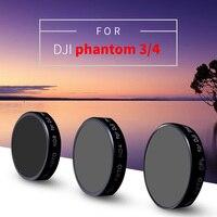 wtianya TY series for djiphantom 4 phantom 3 professional/advanced filters c polarizer CPL+ND4+ND8 Neutral Density filter