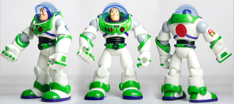30cm pvc original Toy Story 3 Buzz Lightyear or woody light voice elastic wings action figure baby rc hobby toys P2 original toy story 3 buzz lightyear robot light voice elastic wings 30cm action music anime figure kids toys for children p2