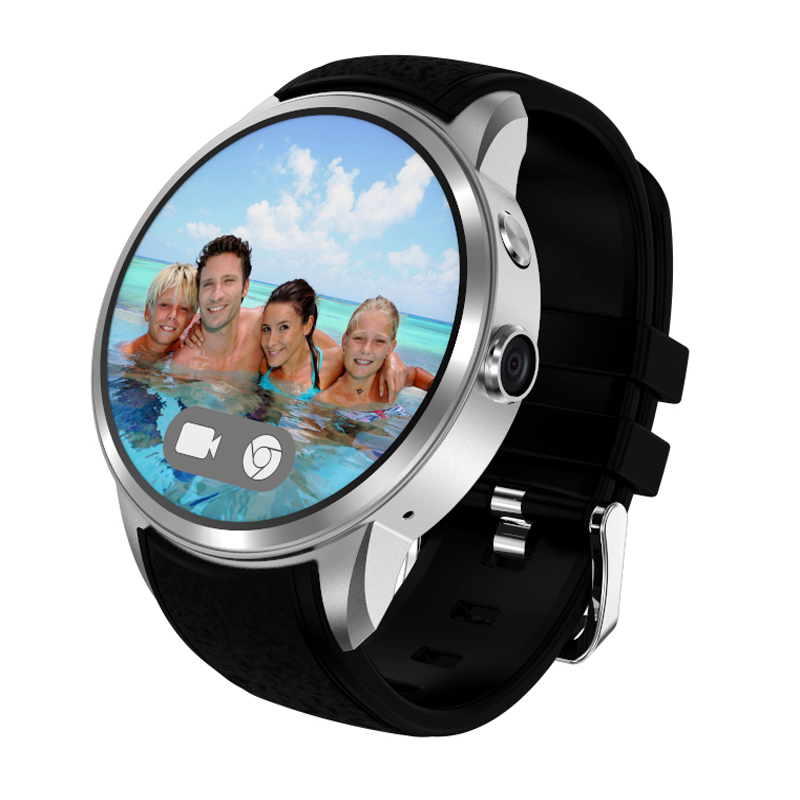 Android 5.1 smart watch mtk6580 rom 8 gb soporte gps 3g Wifi Nano Tarjeta SIM Sm