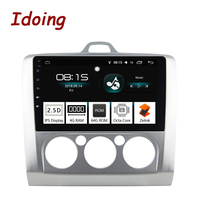 Idoing 9 4G+64G Octa Core Car Android8.0 Radio Multimedia Player Fit Ford Focus Mondeo S Max 2.5D IPS Screen GPS Navigation PX5