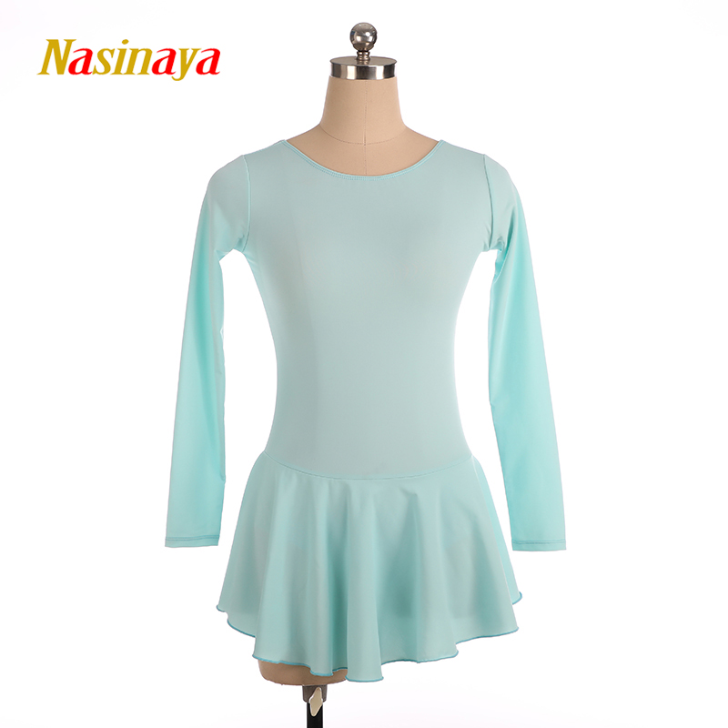 Nasinaya Figure Skating Dress Customized Competition Ice Skating Skirt for Girl Women <font><b>Kids</b></font> Patinaje <font><b>Gymnastics</b></font> Performance 47 image