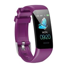 купить Colorful Screen C20 Waterproof Smart Wristband Sports Pedometer Blood Pressure Monitor Activity Fitness Tracker Watch Bracelet дешево
