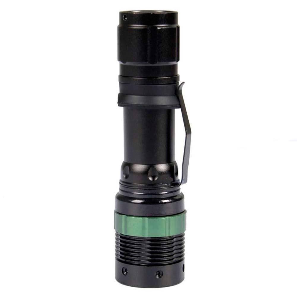 3000 Lumen Aluminum alloy Zoomable XM-L Q5 LED Flashlight Torch Zoom Lamp Light LED Flashlight
