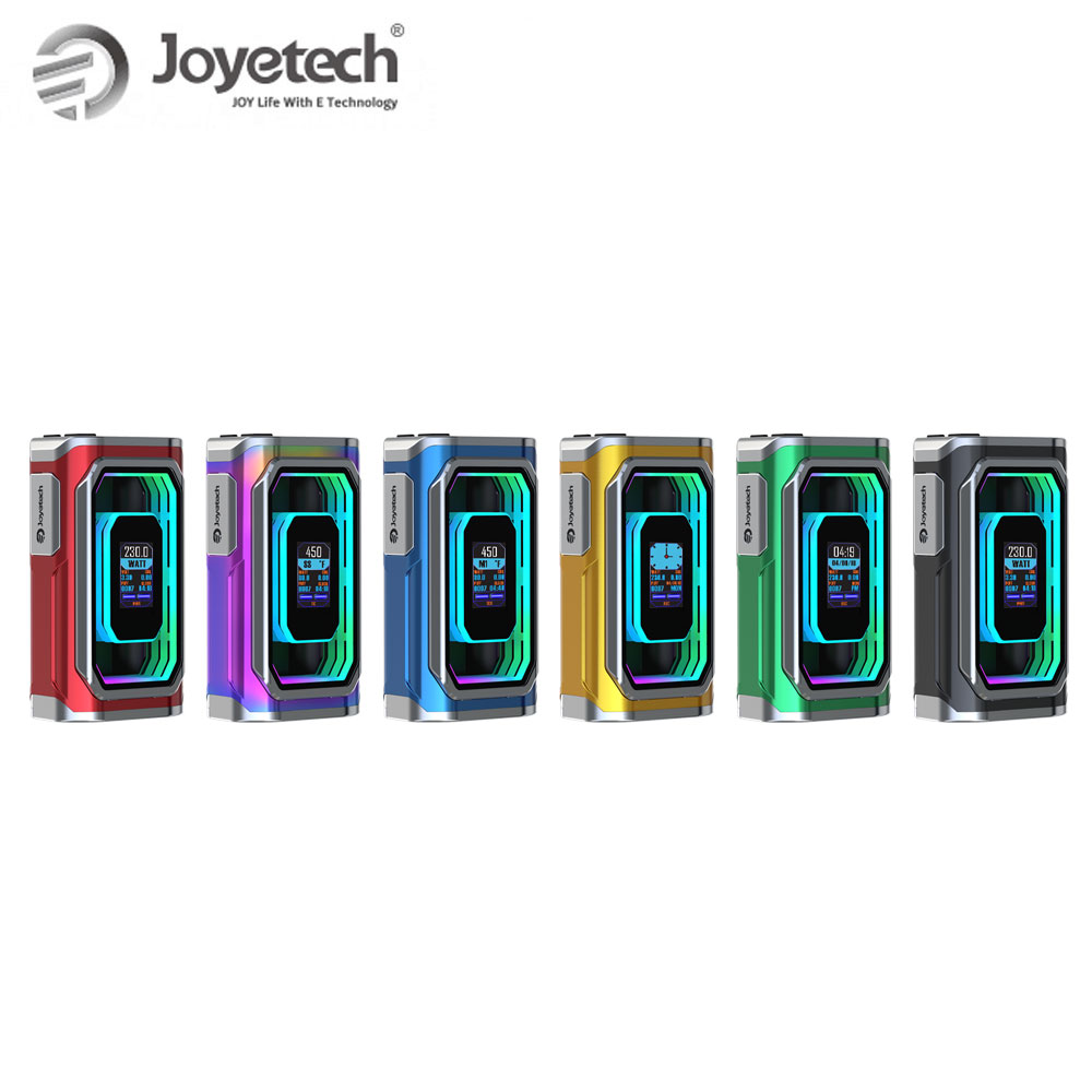 Chaud! Joyetech Original ESPION infini AI Mod (pas de cellule) 230W alimenté par deux batteries 18650 puissance/RTC/TC/TCR modes e-cig