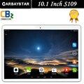 S109 10.1 pulgadas de metal tablet PC Android tablet Pc Phone call Quad Core 2 GB RAM 16 GB ROM Dual SIM GPS FM bluetooth del IPS tabletas