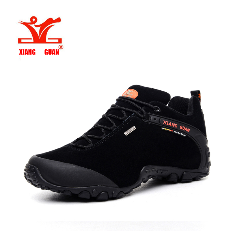 2016 Brand XIANGGUAN outdoor sport hiking shoes Men and Women Waterproof Breathable Hunting Boots snow moution walking shoes kelme 2016 new children sport running shoes football boots synthetic leather broken nail kids skid wearable shoes breathable 49