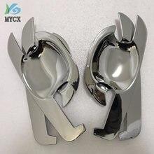 4 шт для toyota hilux аксессуары abs хромированная дизайнерская