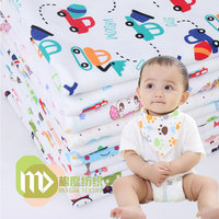 Baby Diapers 100 Cotton Towel Slobber Children 40 S Cotton Printed Underwear Wholesale