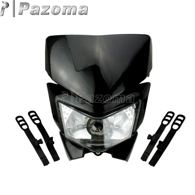 Pazoma Dirt Bike Motorcycle Universal Vision Headlight