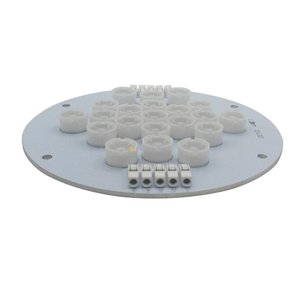 5 canaux 21 Leds Cree + Epileds Led Corail Émetteur Lampe Lumière Pour bricolage Ecotch Marine XR30W XR15W G4 Pro Réservoir D'aquarium lumière Led - 3
