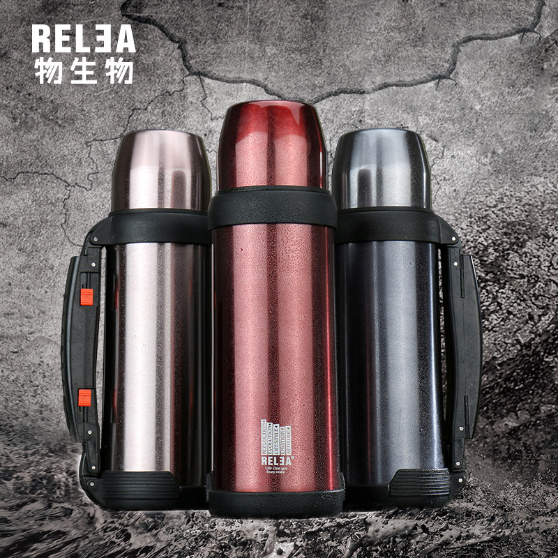 1.0L Vacuum Bottle Warm <font><b>Cup</b></font> Stainless Insulated Stainless Steel Sports Travel tourism Thermos <font><b>hydro</b></font> <font><b>Flask</b></font> coffee camping mug