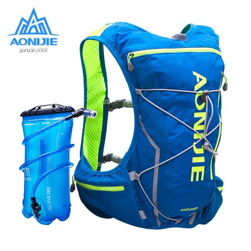 AONIJIE E904S нейлон 10L наружные сумки походный рюкзак жилет Professional Marathon Running велосипедный рюкзак