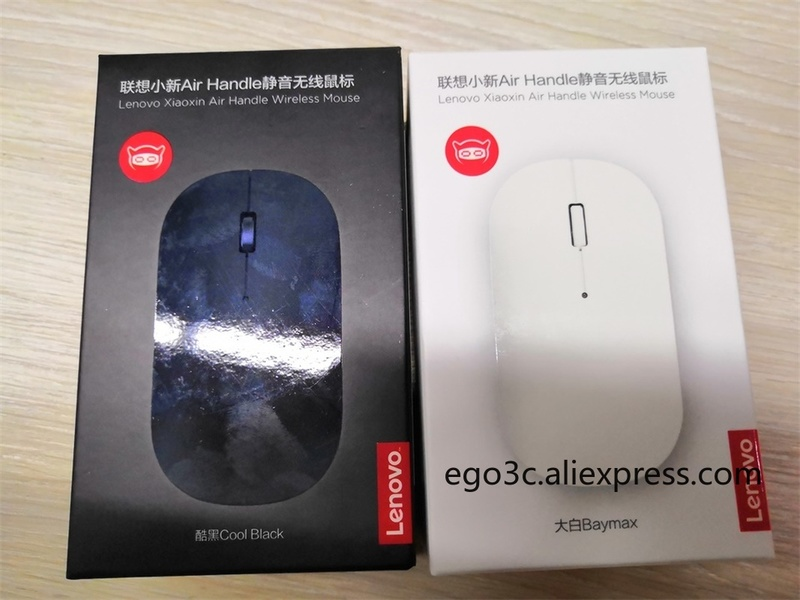 Image 5 - Newest lenovo xiaoxin air handle Wireless Mouse 4000dpi 2.4GHz Optical Portable silent Mouse 10m working distance for notebook-in Mice from Computer & Office