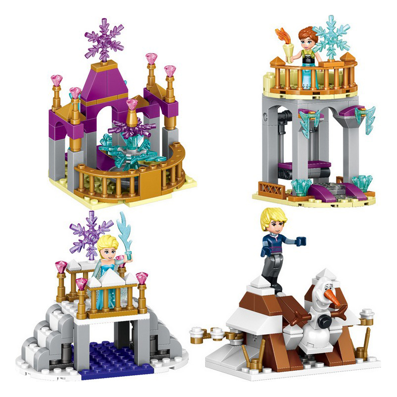 Educational-Building-Blocks-Toys-For-Children-Gifts-Castle-Girls-Friends-Princess-Prince-Mermaid-Beauty-Beast-Snow-Elsa-Anna-1