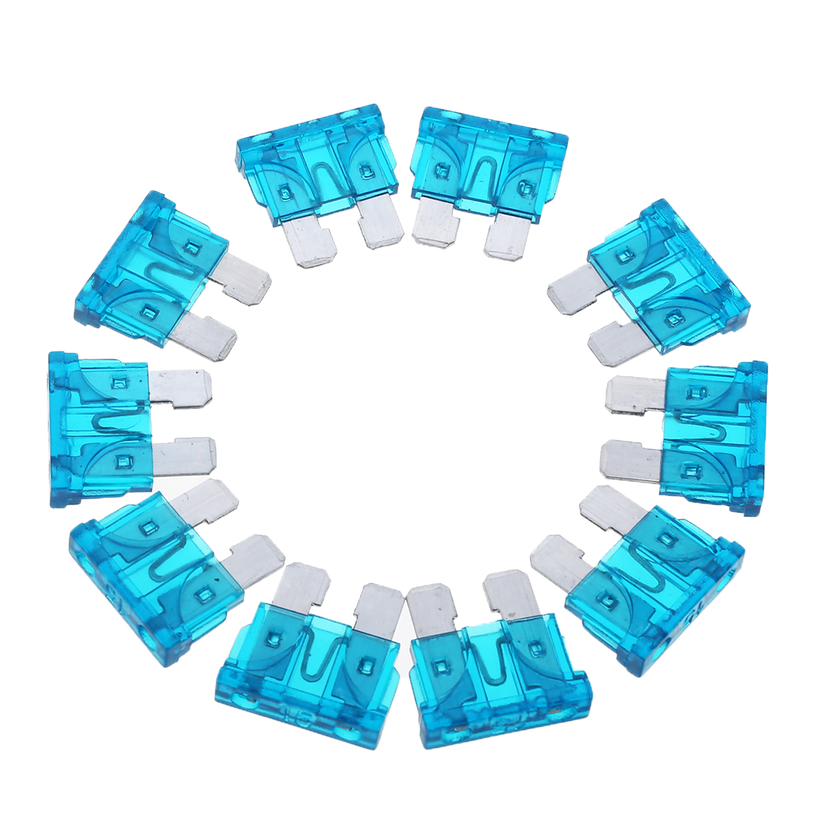 10Pcs 32V 15A Blue Color Coded Standard ATO/ATC Blade Fuse For Auto Car Truck 2019 New