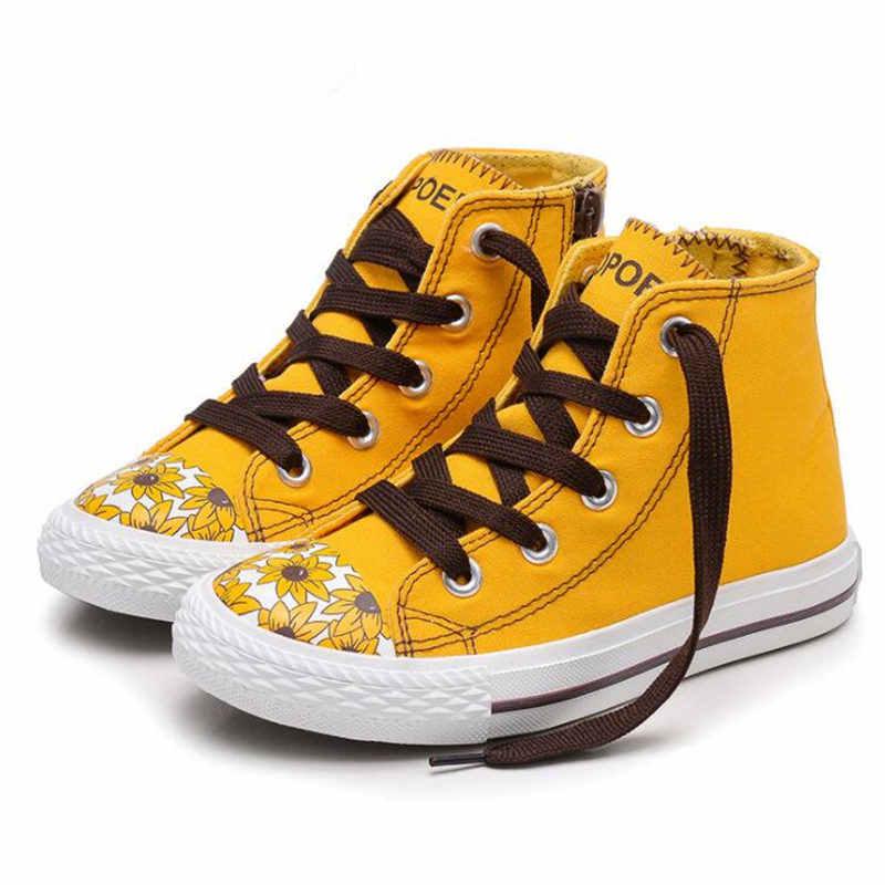 คุณภาพสูงผ้าใบรองเท้าผ้าใบเด็กรองเท้าเด็กชาย Breathable ฤดูใบไม้ผลิฤดูใบไม้ร่วงเด็กแฟชั่นรองเท้าสบายๆรองเท้าเด็ก NS119