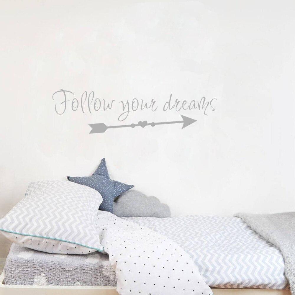 Follow Your Dreams Wall Sticker 2